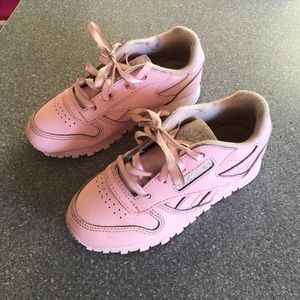 Reebok classic leather toddler